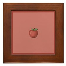 Apple Framed Tile