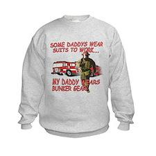 My Daddy Wears Bunker Gear Sweatshirt