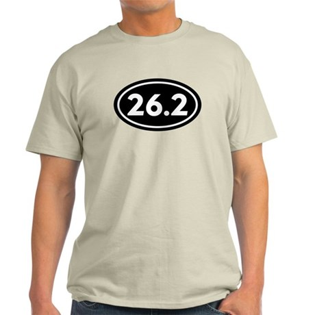26.2 Marathon Oval Light T-Shirt