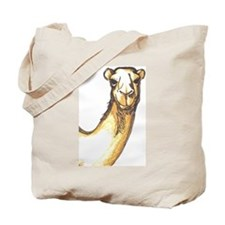 A Camel's Face Tote Bag