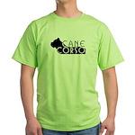 Black Cane Corso Green T-Shirt
