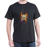 Flaming Skull Dark T-Shirt