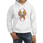 Flaming Skull Hooded Sweatshirt
