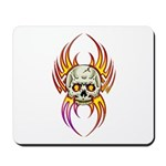 Flaming Skull Mousepad