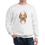 Flaming Skull Sweatshirt