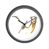 A Camel's Profile Wall Clock