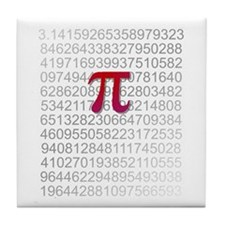 Delicious Pi Tile Coaster