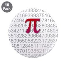 "Delicious Pi 3.5"" Button (10 pack)"