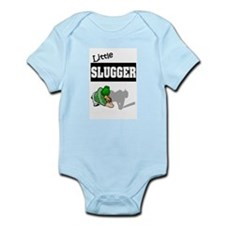 """Little Slugger"" Infant Creeper"