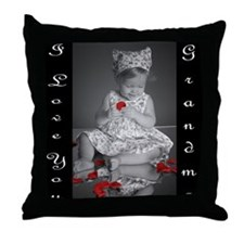Unique Elle Throw Pillow