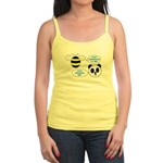 Bee & Panda Attitude/Humor Jr. Spaghetti Tank
