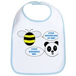 Bee & Panda Attitude/Humor Bib