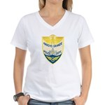 Arroyo Grande Police Women's V-Neck T-Shirt
