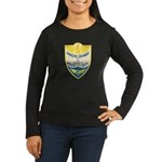 Arroyo Grande Police Women's Long Sleeve Dark T-Sh