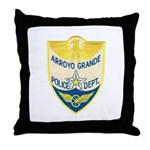 Arroyo Grande Police Throw Pillow