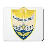 Arroyo Grande Police Mousepad