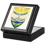 Arroyo Grande Police Keepsake Box