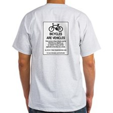 Bicycles Are Vehicles T-Shirt