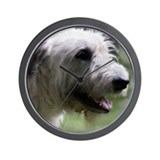 Content Irish Wolfhound Wall Clock