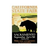 Sacramento CA State Fair Rectangle Magnet