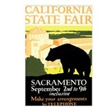 Sacramento CA State Fair Postcards (Package of 8)