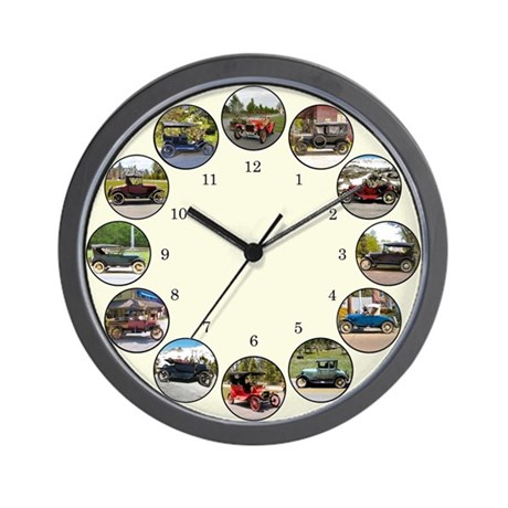 Antique Car Wall Clock