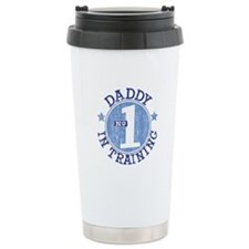 #1 DADDY IN TRAINING Ceramic Travel Mug