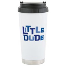 LITTLE DUDE Ceramic Travel Mug