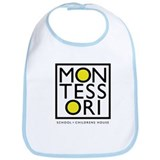 Cute Montessori Bib