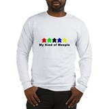 Cute German games Long Sleeve T-Shirt
