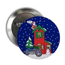 "A Motorcycle For Christmas 2.25"" Button"