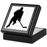 Hockey Player Keepsake Box