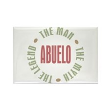 Abuelo Man Myth Legend Rectangle Magnet (10 pack)