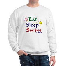Eat, Sleep, Swim Sweatshirt