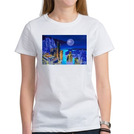 Fantasy Cityscape Women's T-Shirt