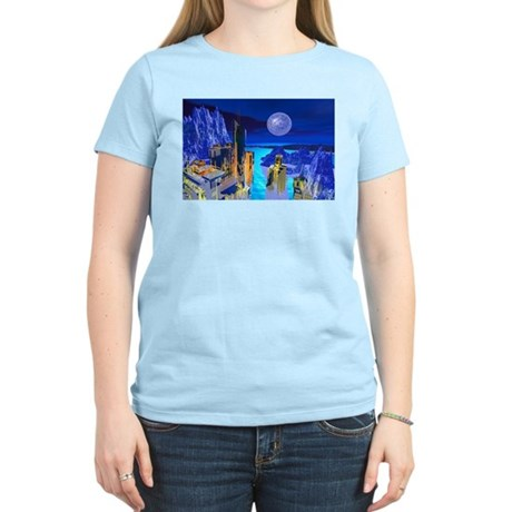Fantasy Cityscape Women's Light T-Shirt