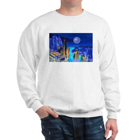 Fantasy Cityscape Sweatshirt