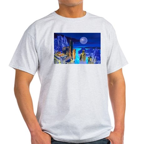 Fantasy Cityscape Light T-Shirt