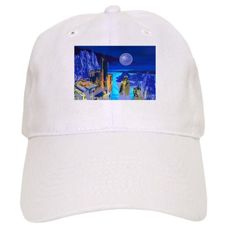 Fantasy Cityscape Cap