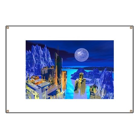 Fantasy Cityscape Banner