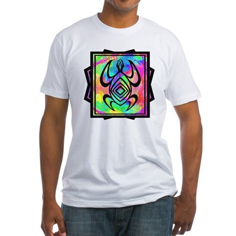 Tiedye Turtle Fitted T-Shirt