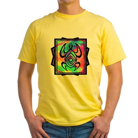 Tiedye Turtle Yellow T-Shirt