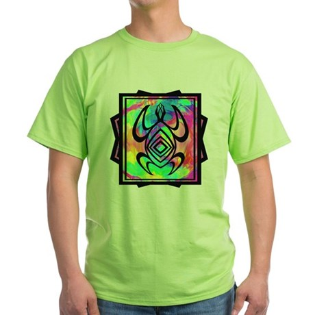 Tiedye Turtle Green T-Shirt