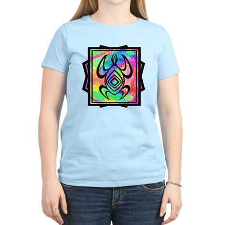 Tiedye Turtle Women's Light T-Shirt