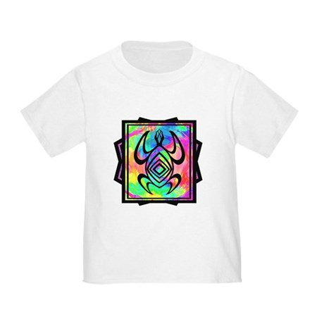 Tiedye Turtle Toddler T-Shirt