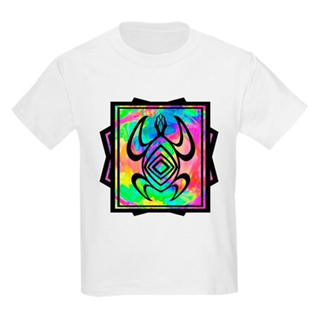 Tiedye Turtle Kids Light T-Shirt