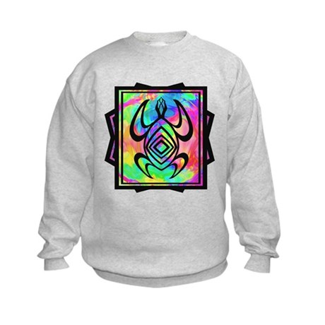 Tiedye Turtle Kids Sweatshirt