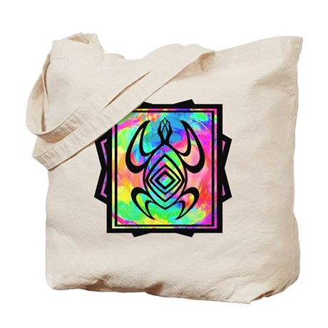 Tiedye Turtle Tote Bag