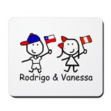 Flags - Rodrigo & Vanessa Mousepad