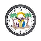 Just Surf Wall Clock